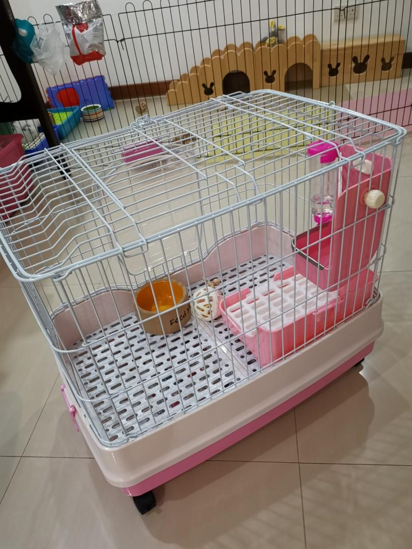 ALMOST NEW Dayang R51 Rabbit Cage
