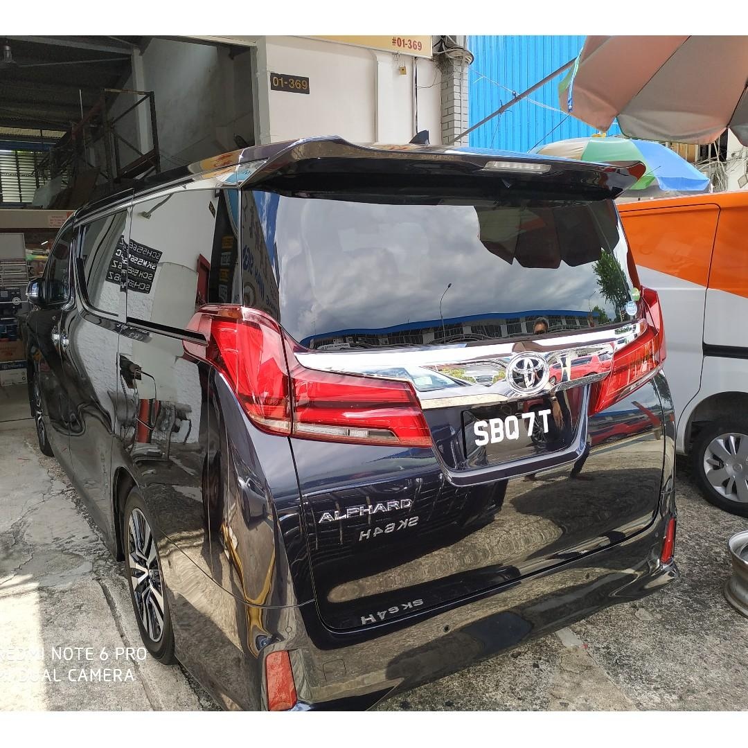 Attn All Private Hirer & Limousine Drivers! Promotion 2 Units Brand New Alphard With Single & Antique 2 Digits Numbers For Lease