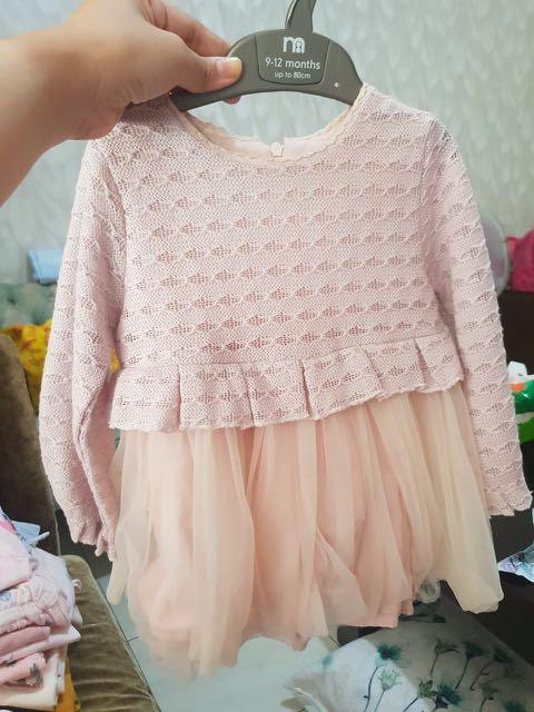 Baby girl dress 12 mo #mauthr