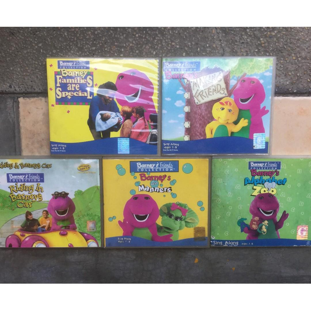 Barney & Friends Collection VCDs on Carousell