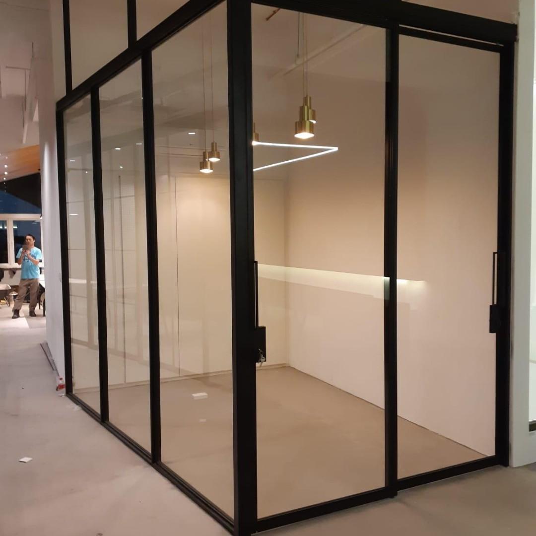 Glass Door Fabrication and Installation