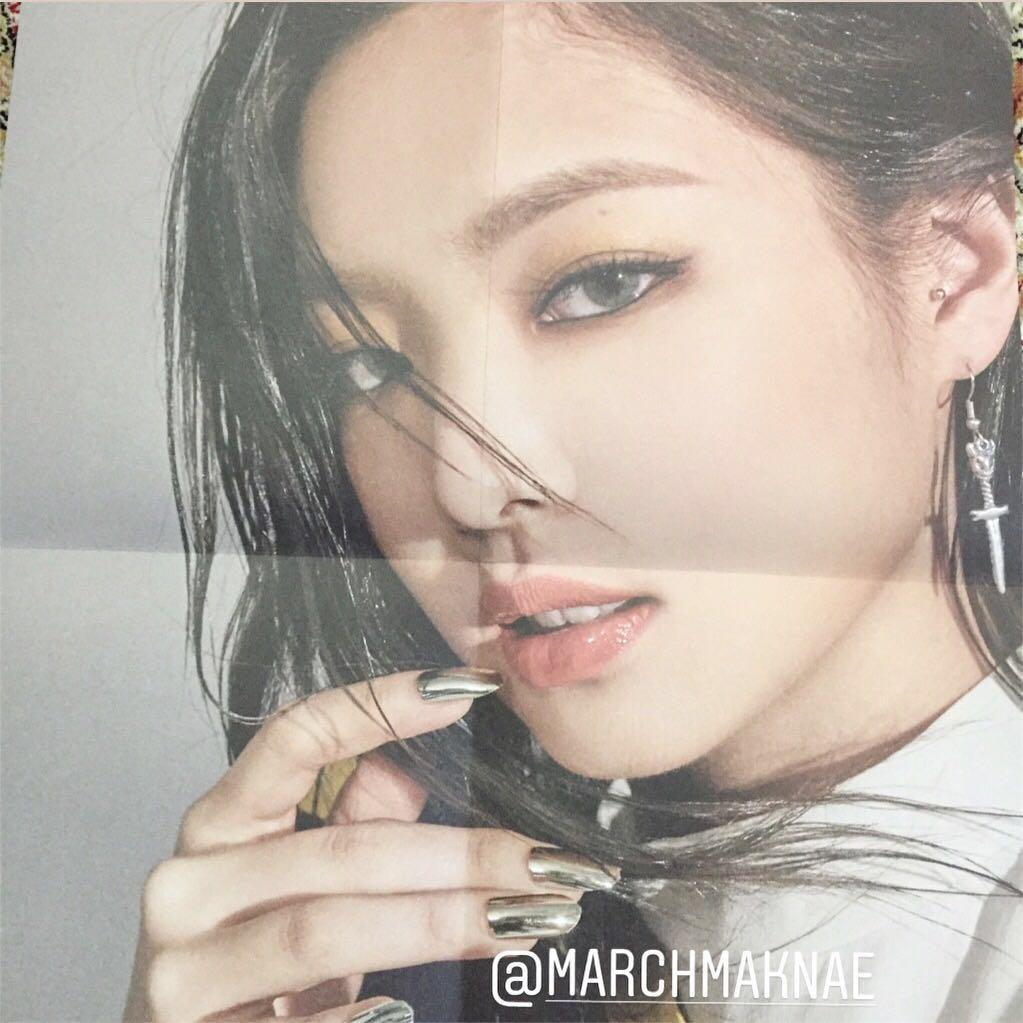 BLACKPINK - Kill This Love Official Folded Poster JENNIE
