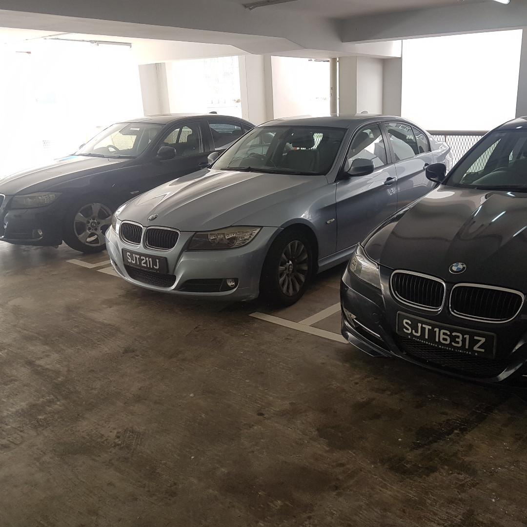 BMW car rental (collect any day including PH)