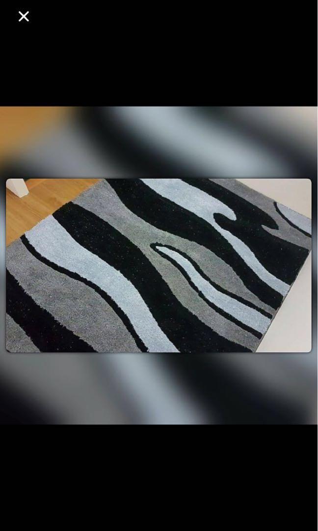 Brand new designer carpet 1.6x2.3m