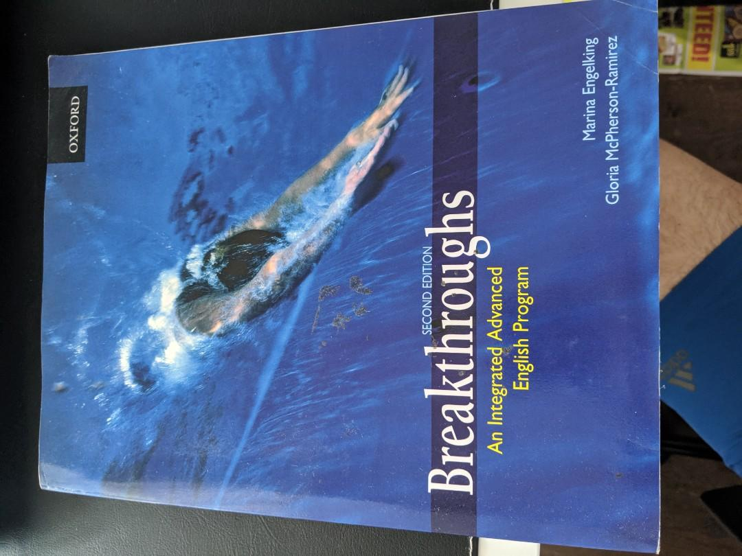 Breakthroughs: Student Book, an integrated advanced English Program. Marina Engelking, Gloria M.