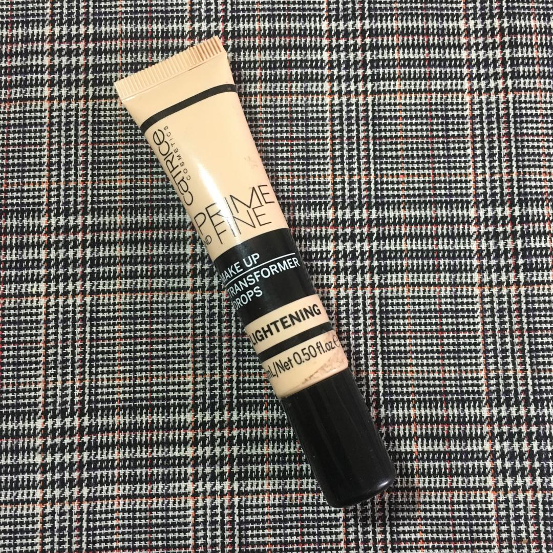 Catrice prime and fine makeup transformer drops (lightening)