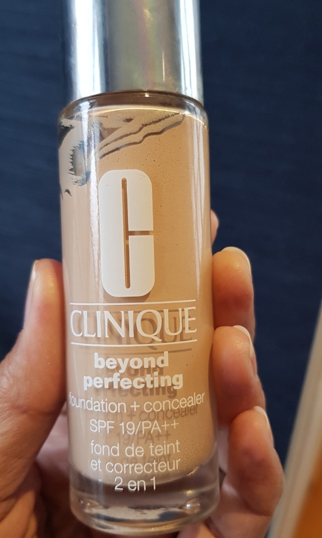 Clinique Beyond Perfecting shade 65 neutral #mauthr