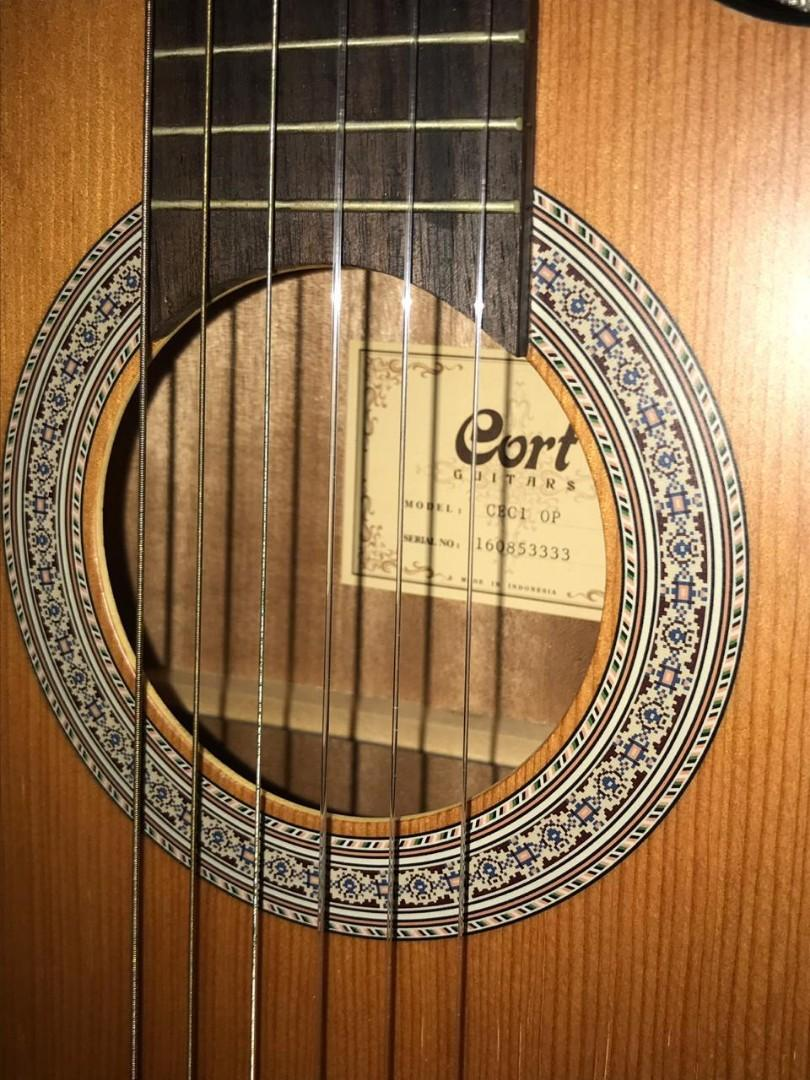 Gitar Akustik Elektrik Cort CEC1 OP