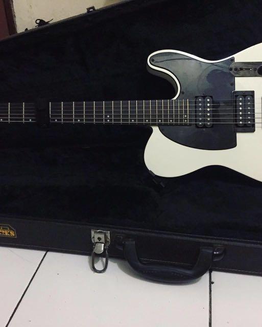 ESP LTD TE-200 + Hardcase + Dimarzio Pickups + Gotoh Locking Tuners