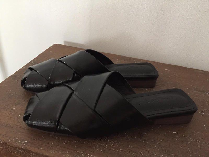 Genuine Leather Mules
