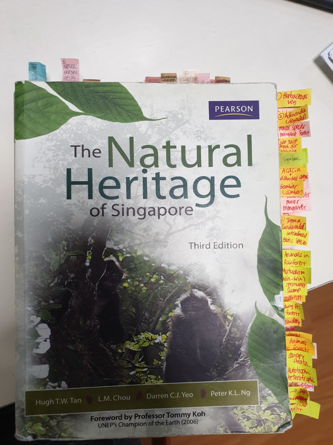 GES1021 Natural Heritage of Singapore NUS