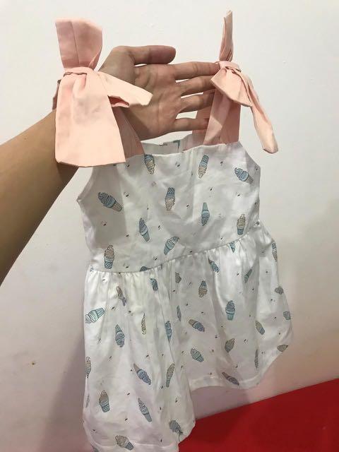 Ginger snaps ice cream dress