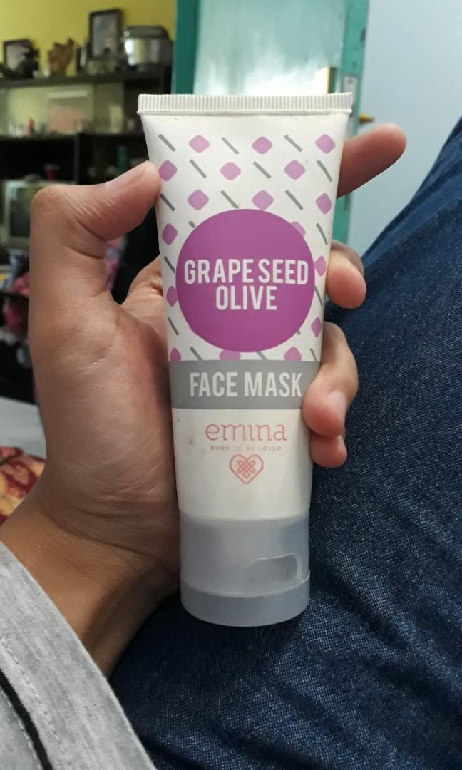 Grape Seed Olive Face Mask Emina