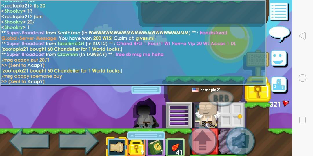 Buying Growtopia Dls Toys Games Video Gaming In Game Products On Carousell