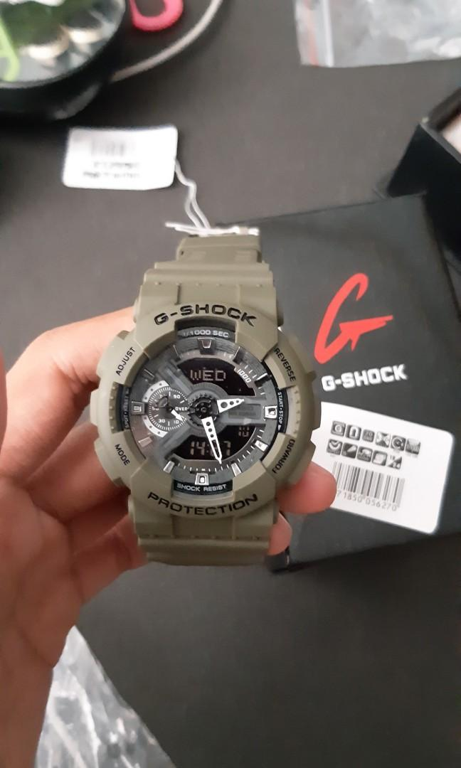 G-Shock GA-110 army HR limited edition color
