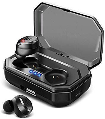 73f05264800 [HG174] Bluetooth Headset TWS-S8 Touch Mini Wireless Headphones, 5.0 Earbuds  with Portable Charging Case for Running Sports, Electronics, Audio on  Carousell
