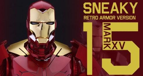 Hot Toys (MISB) - Iron Man Sneaky Retro Exclusive (MMS396)