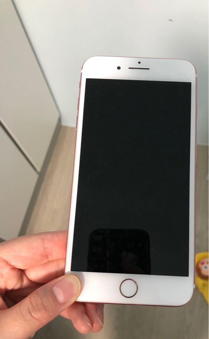 IPHONE 7 PLUS 玫瑰金 128GB