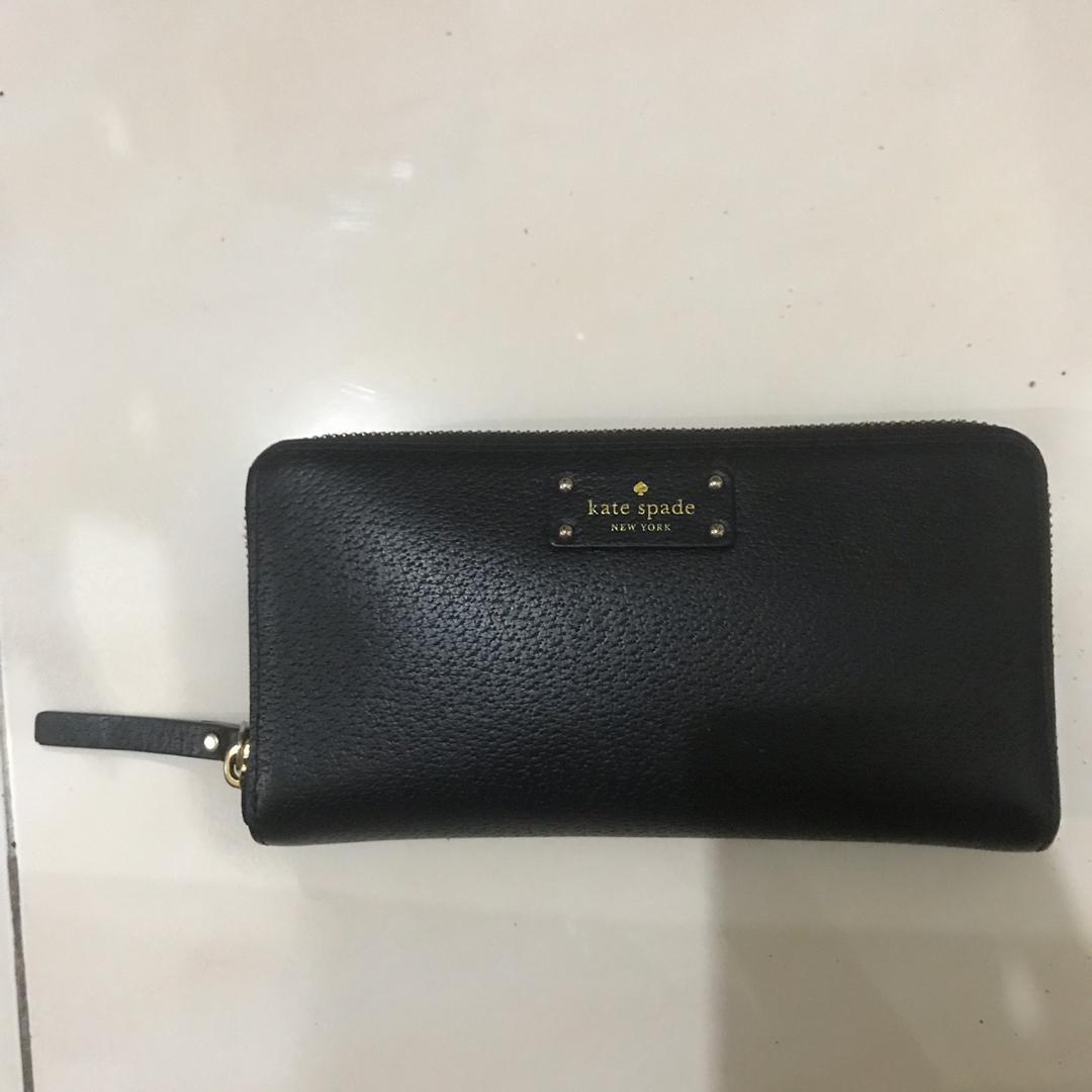 Kate Spade New York Wellesley Neda Zip Around Wallet Black