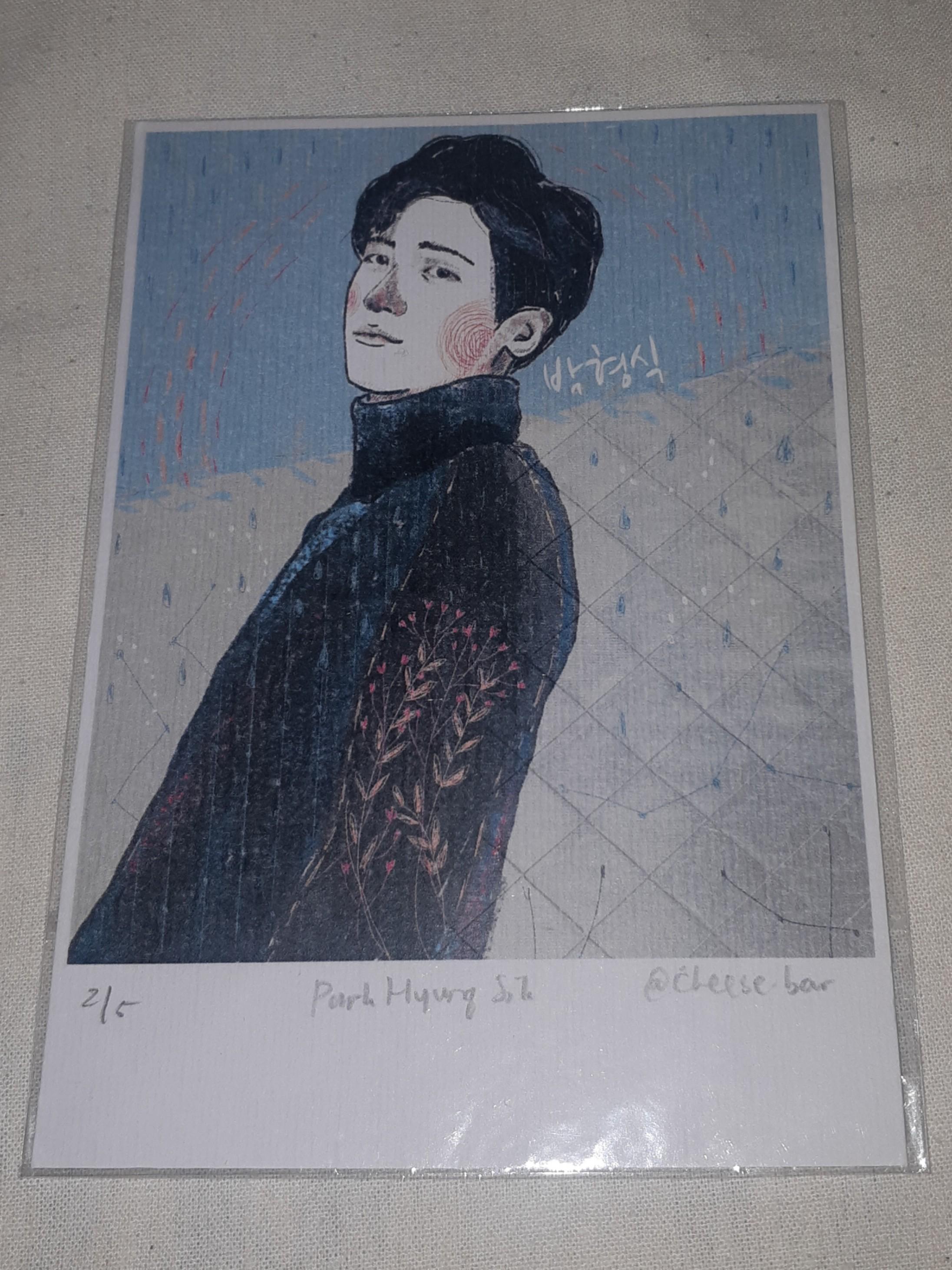 Korea photocard by fan