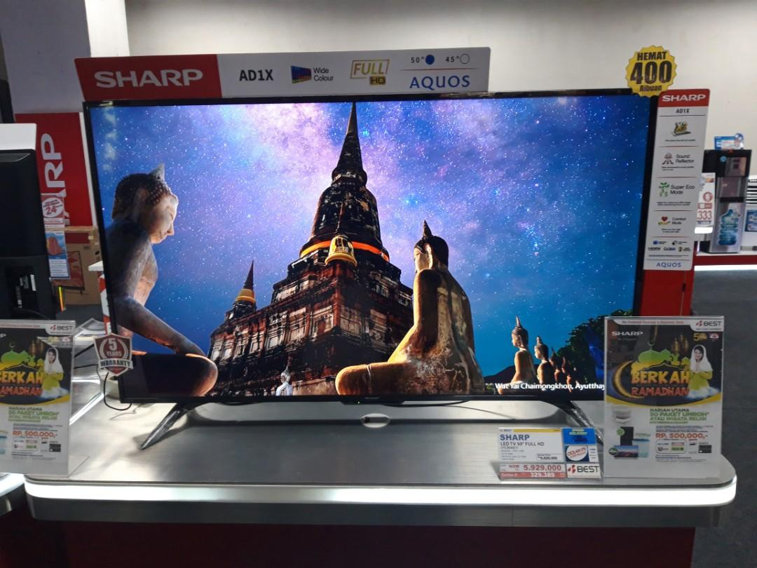 "Kredit Sharp LED TV 50"" Promo Free 2x Angsuran"