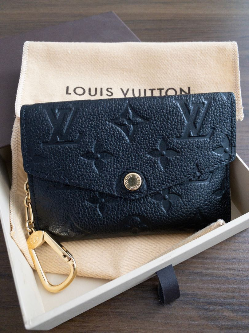 498717184 LV Monogram Empreinte Leather, Key Pouch, Luxury, Bags & Wallets, Wallets  on Carousell