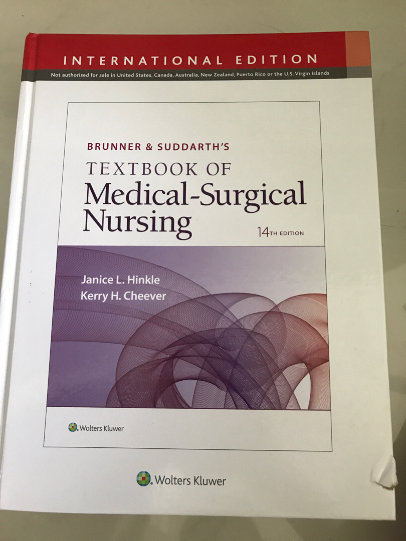 Medical-surgical nursing textbook