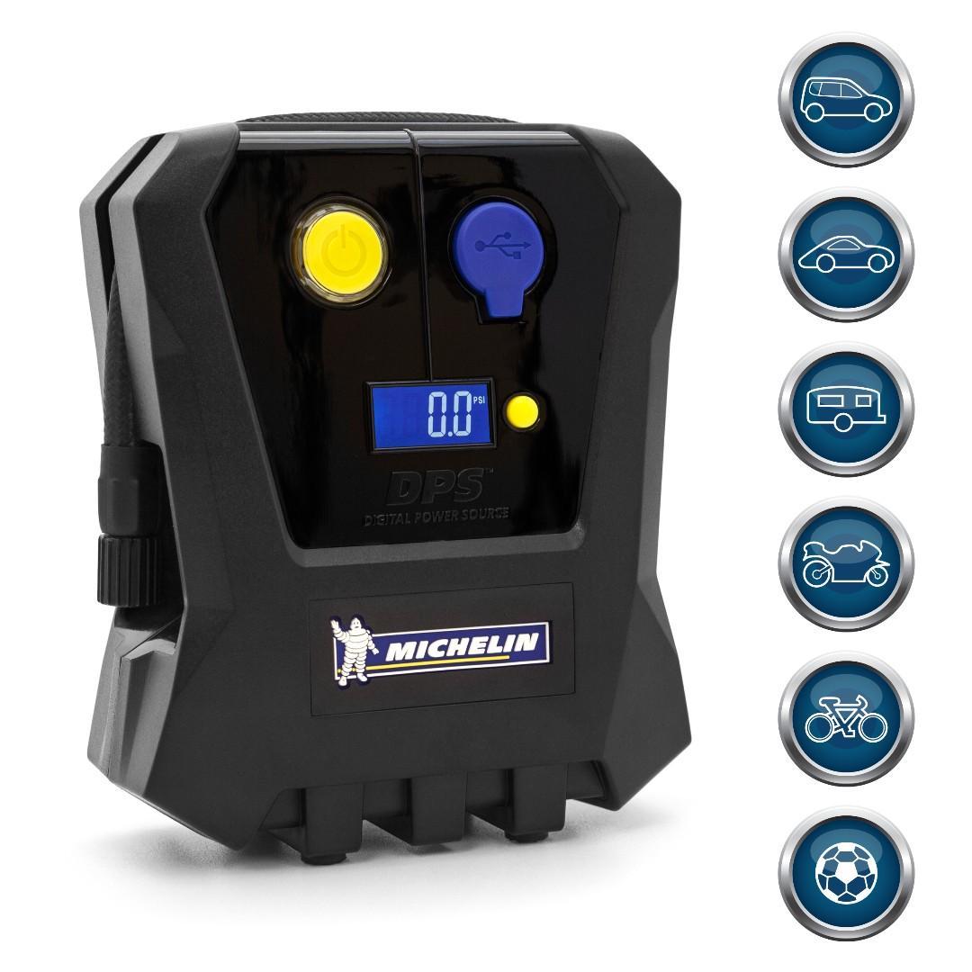 Michelin Portable Micro 12V Digital Gauge Display Tire