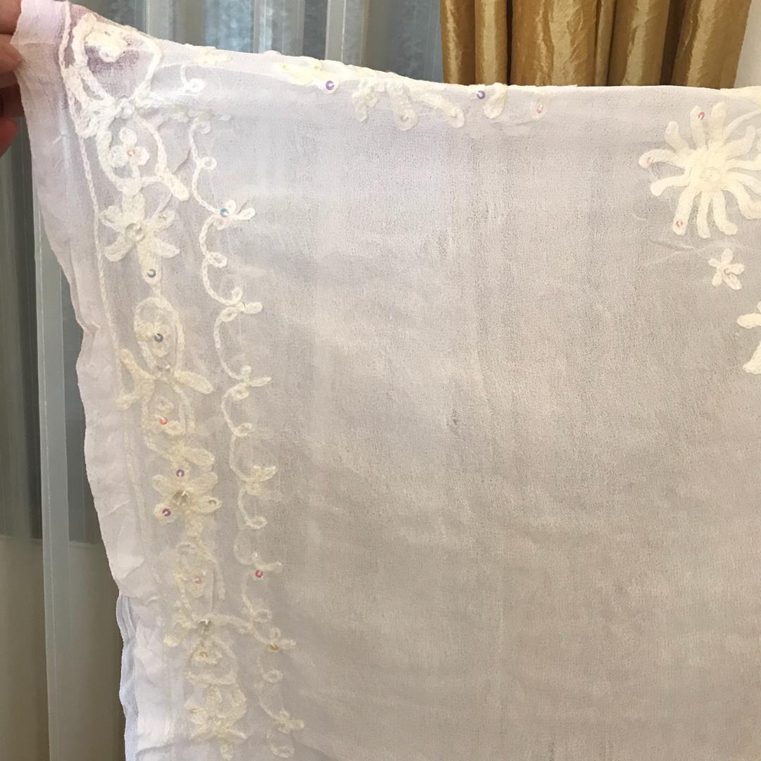 New - Kaftan  Abaya Tunik Putih