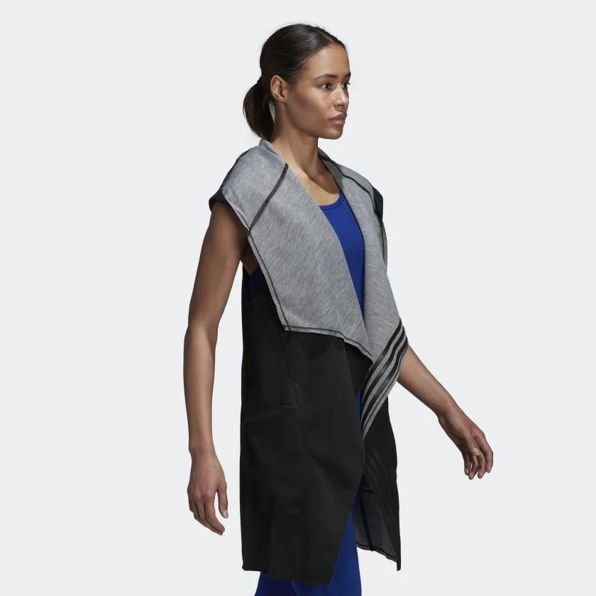 [NEW] ADIDAS Women's Athletics Reversible Hooded Vest