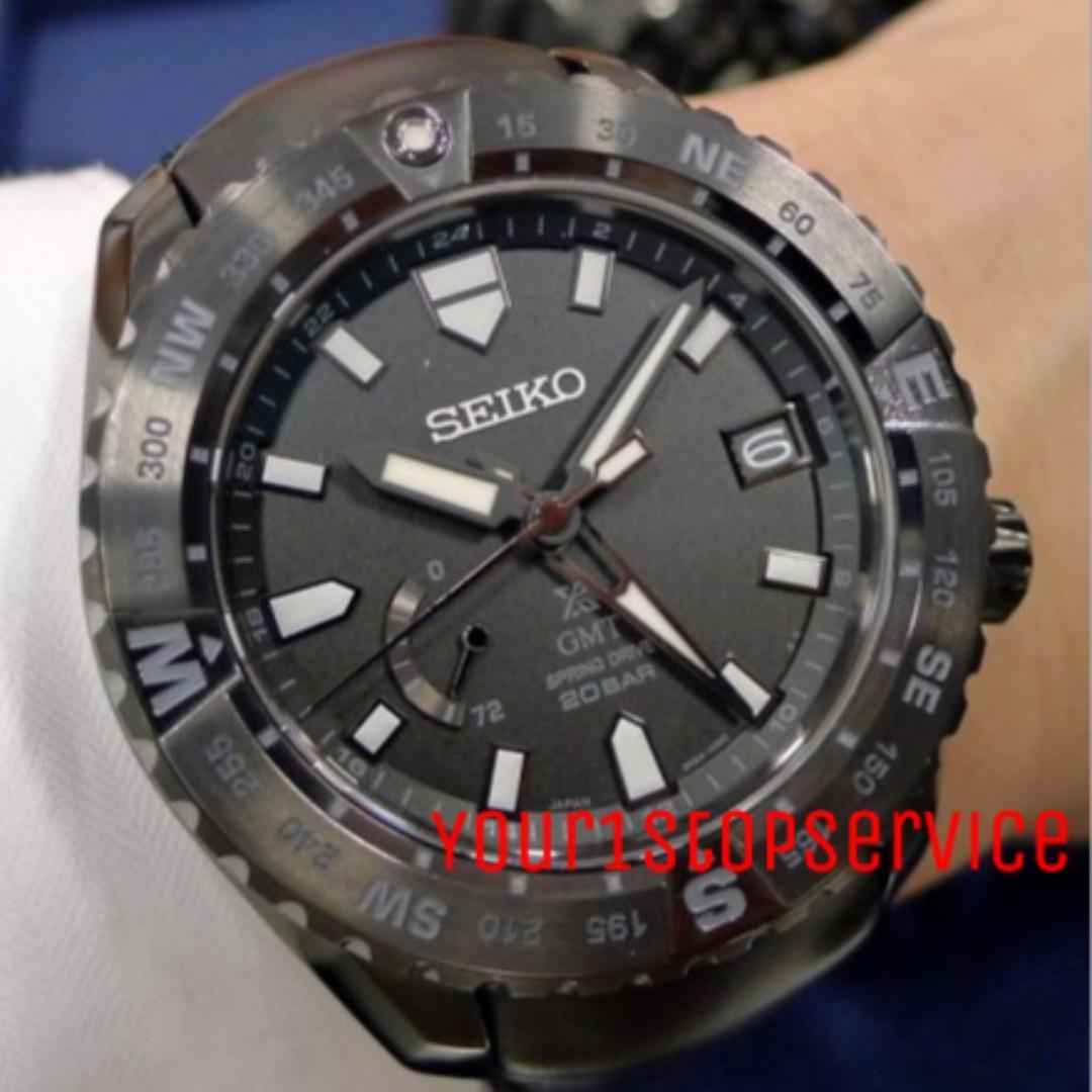 New Seiko Prospex Land Master LX SBDB023/SNR027 (Black