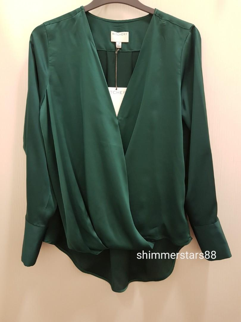 New!Witchery blouse/shirt winter 2019 style, colour sold out, size 8, RRP$99.95. FREE POSTAGE