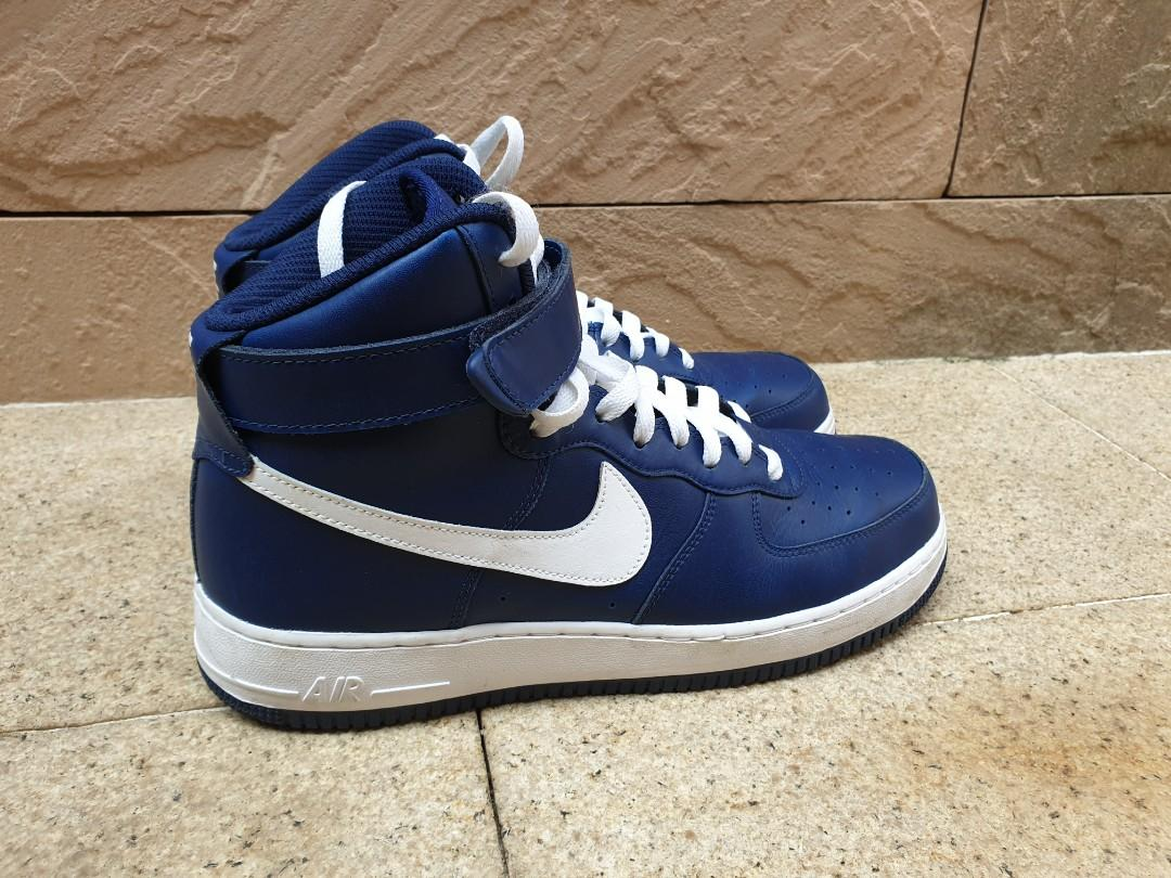 info pour 65a2d c85be Nike Air Force 1 High ID, Men's Fashion, Footwear, Sneakers ...