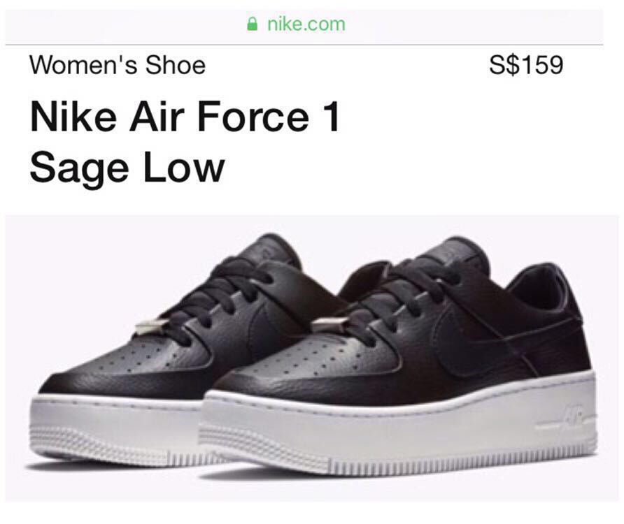 Air Force Sage Size 5 1 Nike 5 7gY6bfy