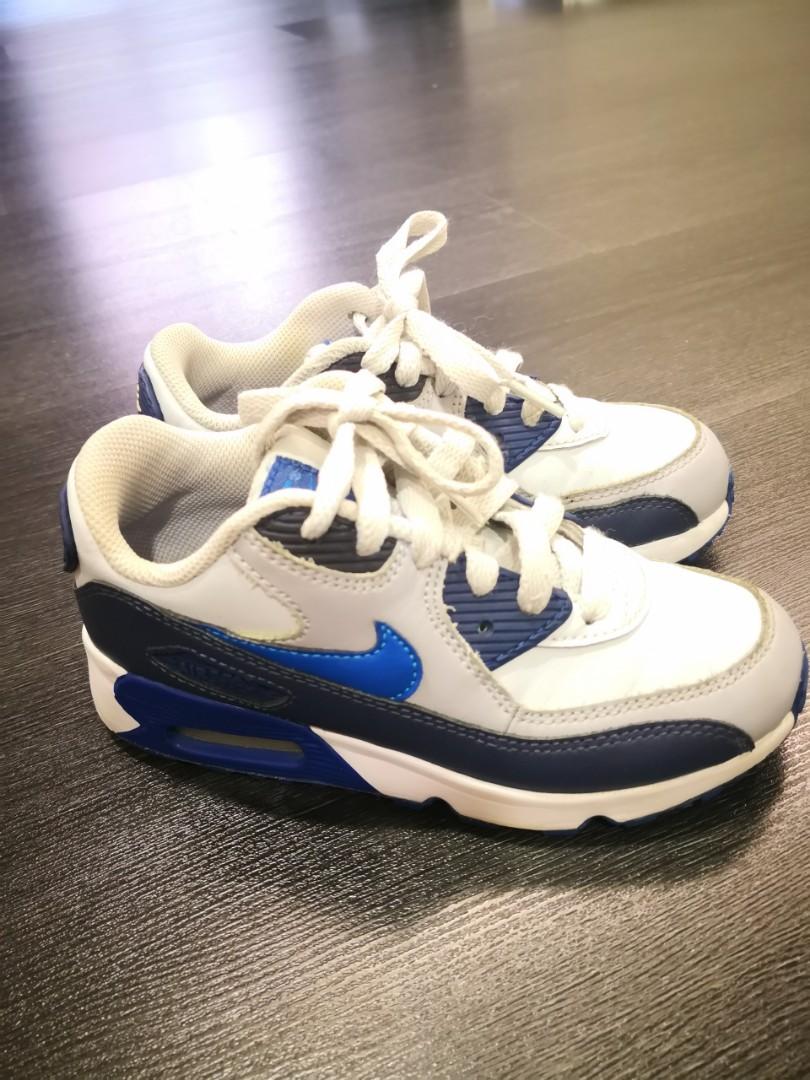 242abd4fd2d11 Nike Air Max 90 kids Size US13C 19CM, Men's Fashion, Footwear, Sneakers on  Carousell