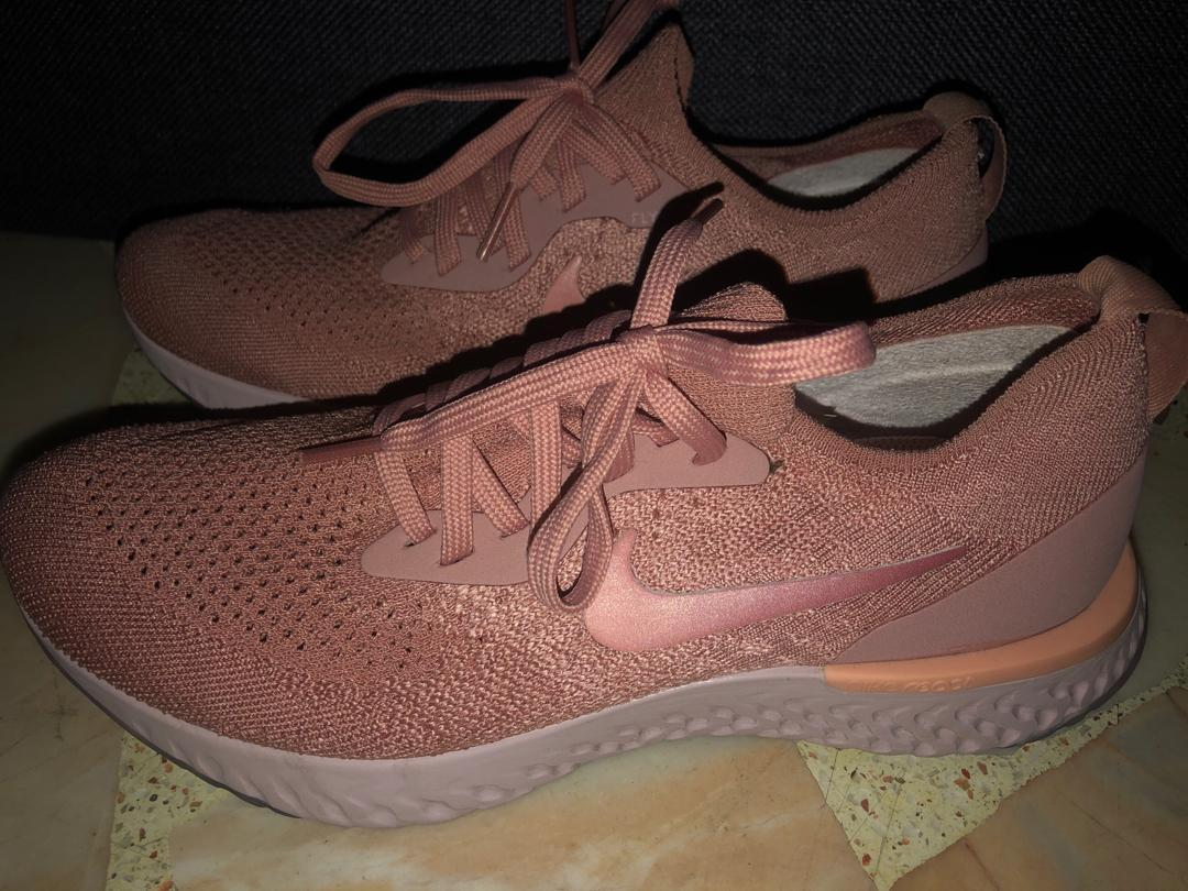 good selling various design on feet images of Nike Epic React (Rose Gold), Women's Fashion, Shoes ...