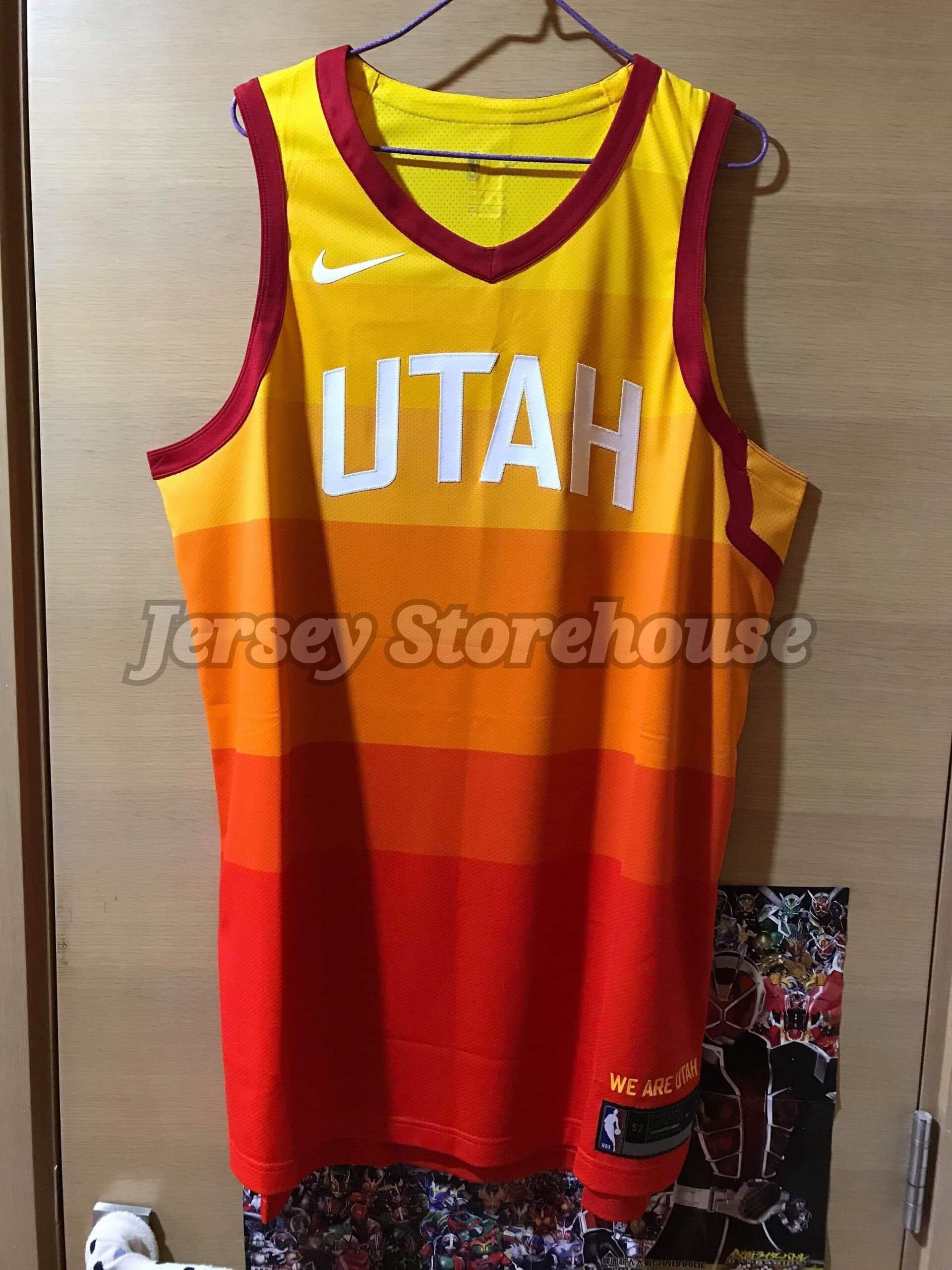 newest c4136 241cf Nike NBA UTAH JAZZ City edition Authentic Blank Jersey 球員 ...