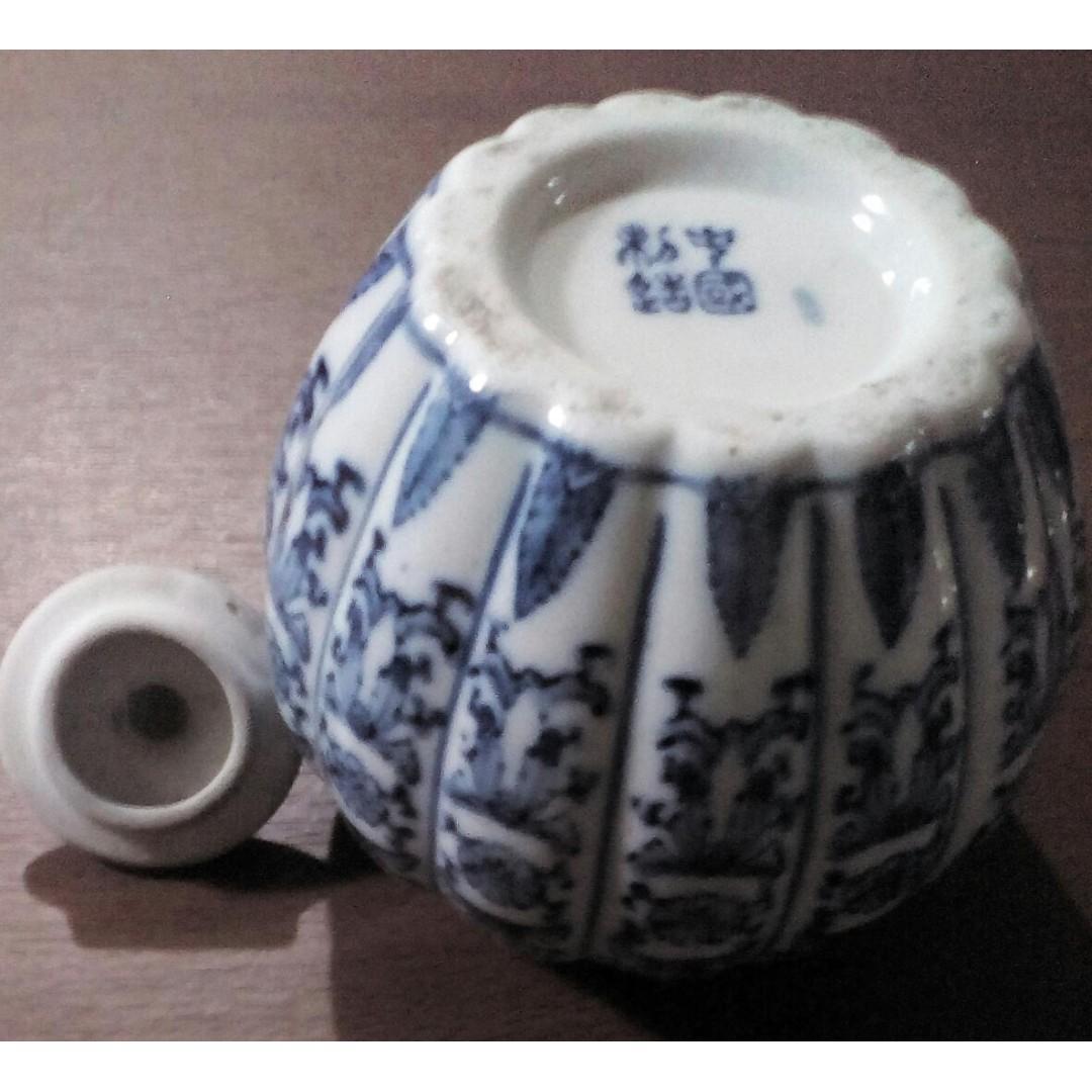 Pajangan Guci Keramik Labu