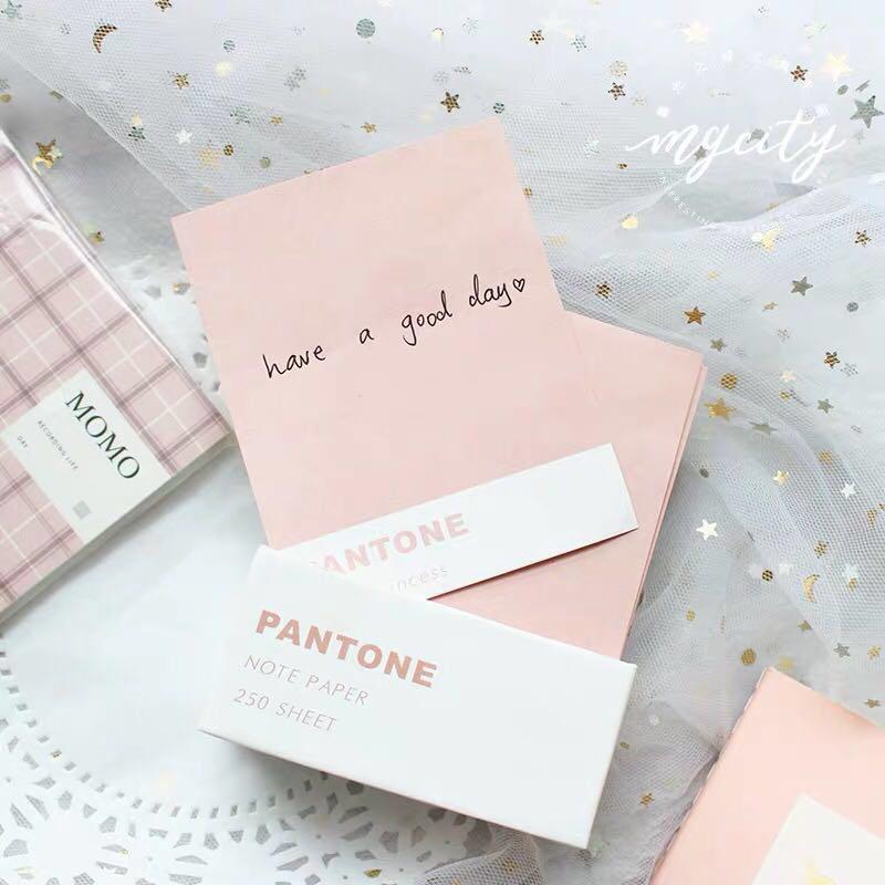 [PO] pantone memo sheet sets