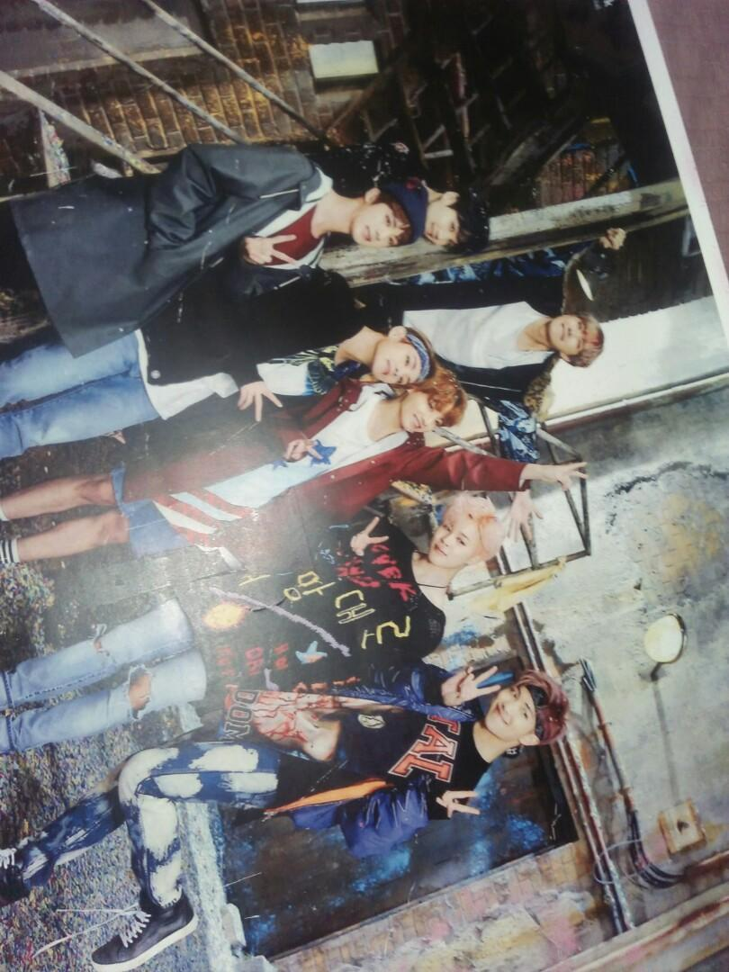 Poster BTS unofficial