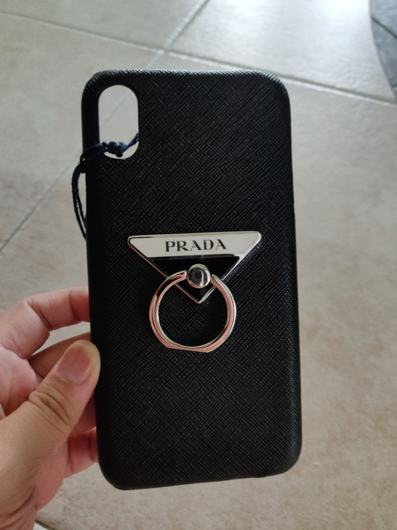 newest collection 54fcf 292b7 Prada Hard cover case for iPhone XS max