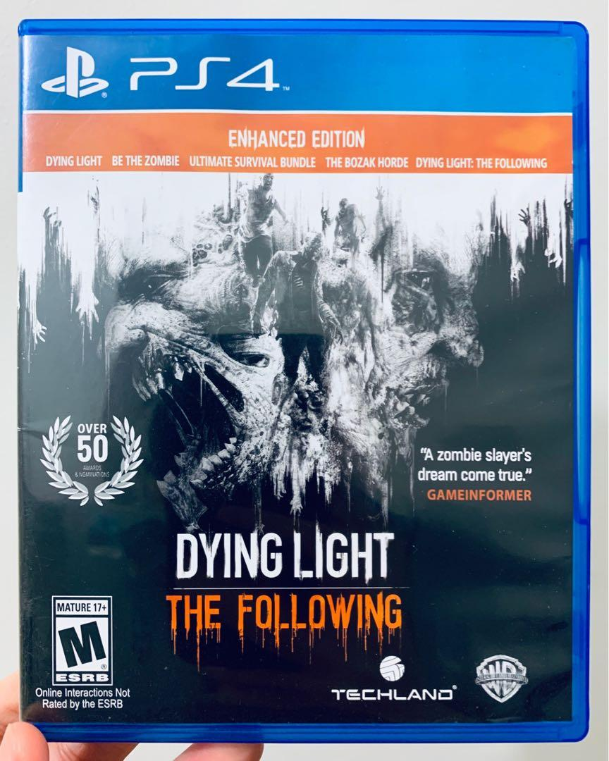 PS4: Dying Light The Following: Enhanced Edition on Carousell