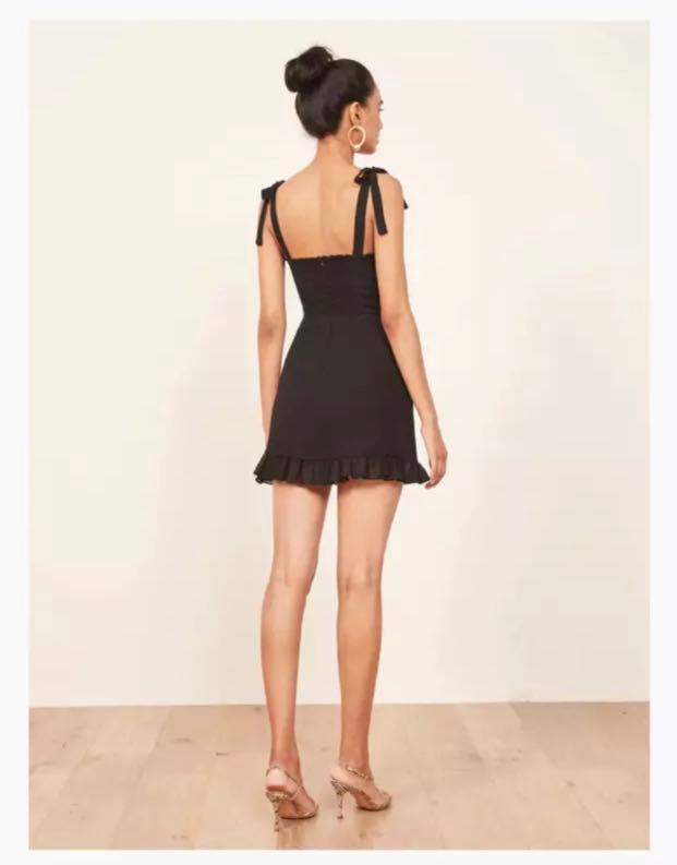 Deanne Mini Dress - Black