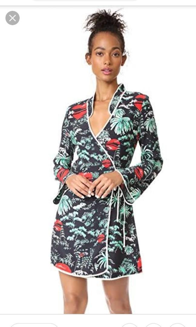 RIXO London Iris silk dress, size 8, RRP $350 - WORN ONCE