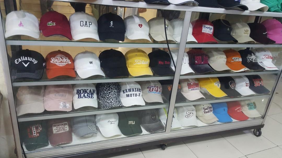 Semua jenis topi import