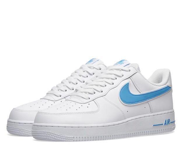 "SICK* Nike Air Force 1 ""UNIVERSITY BLUE"