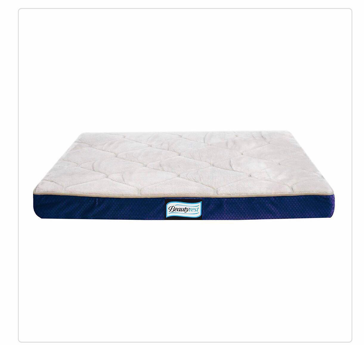 Simmons Beautyrest Thera Bed Orthopedic Memory Foam Dog Bed And