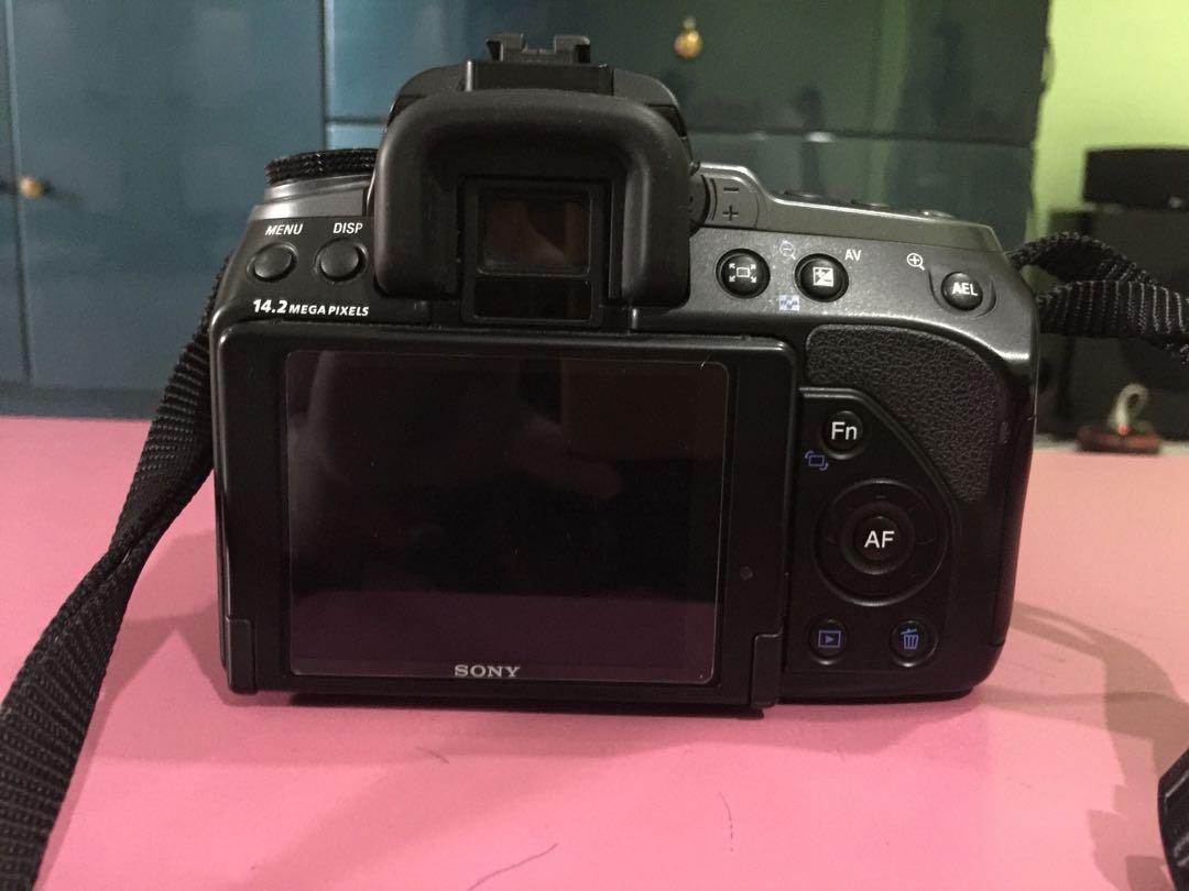 Sony DSLR alpha 550 a550