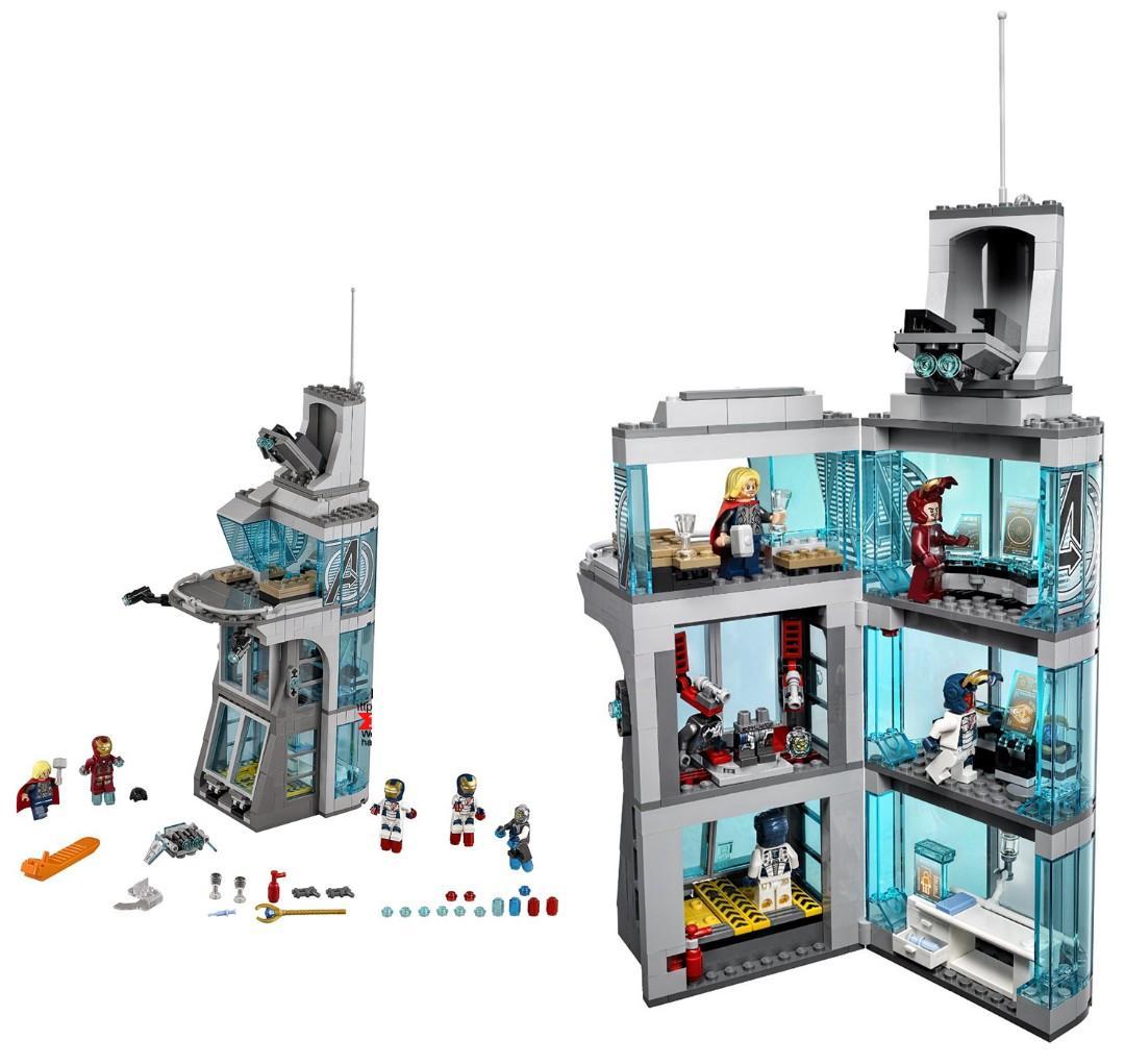 Avengers Tower Model Building Blocks (563pcs)