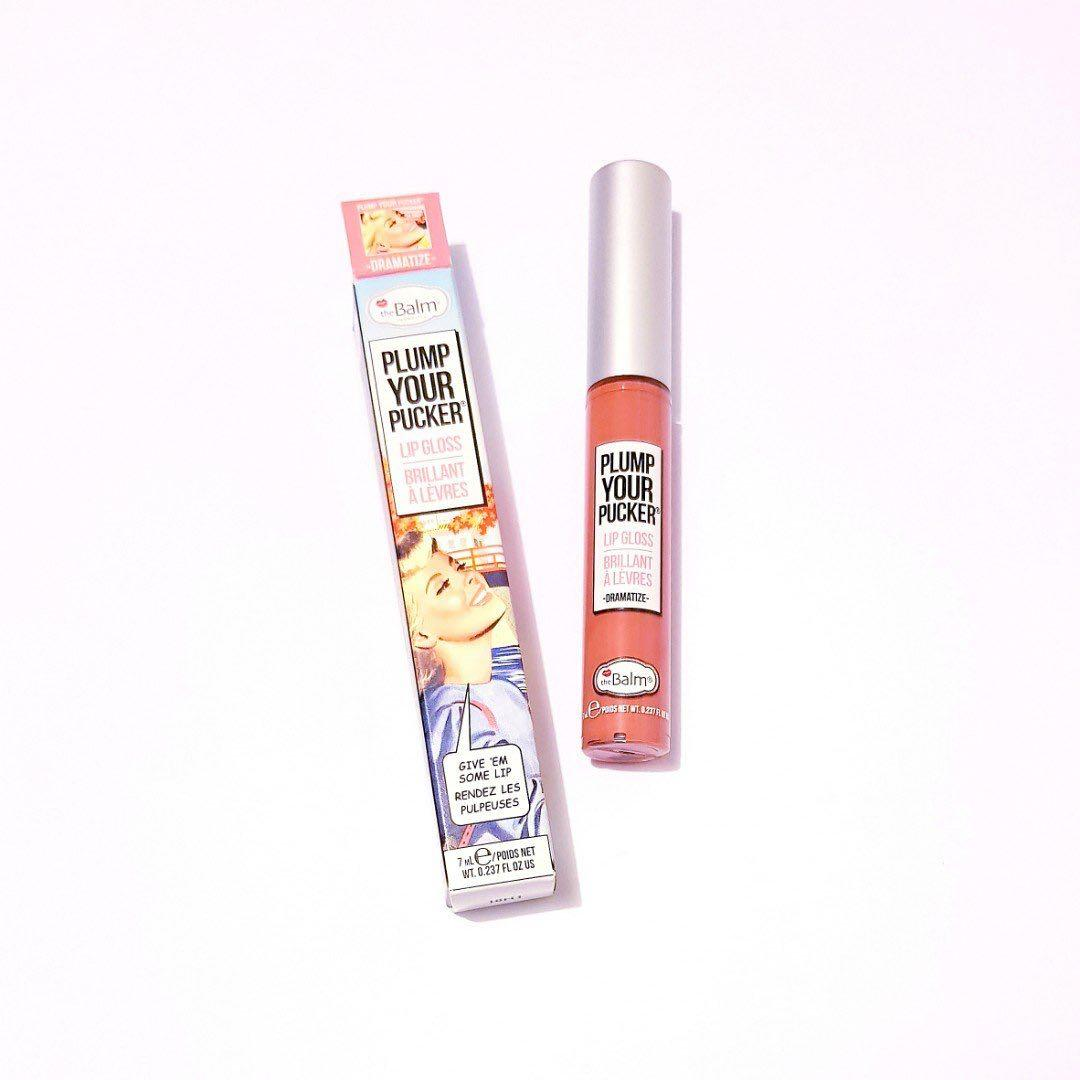 The Balm Cosmetics Plump Your Pucker Dramatize Lip Gloss